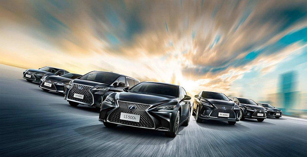 日本豪華汽車品牌Lexus,2020年於全球共銷售出718,715輛各式新車,相...