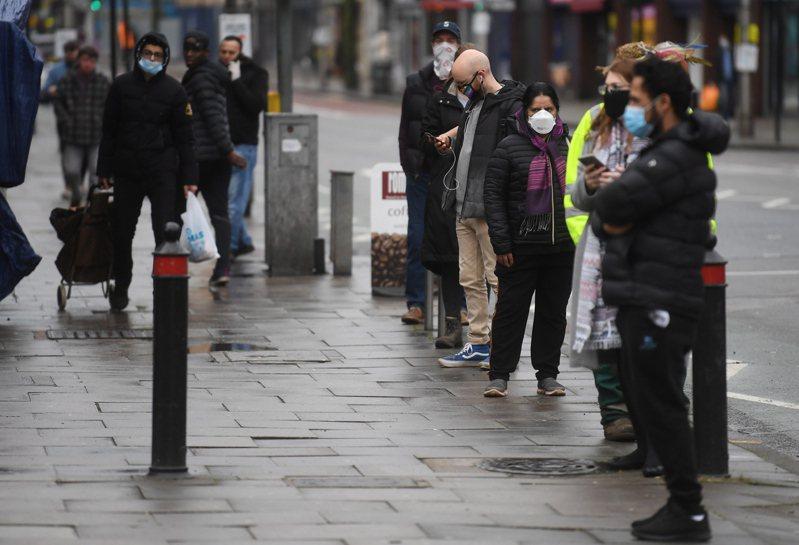 英国政府今天公布的官方数据显示,受2019冠状病毒疾病(COVID-19)疫情大流行影响,2020年英国经济萎缩高达9.9%,是有纪录以来的最大降幅。 欧新社(photo:UDN)