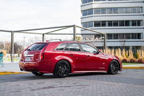 美式暴力碗公! Cadillac CTS-V Wagon兇猛又霸氣