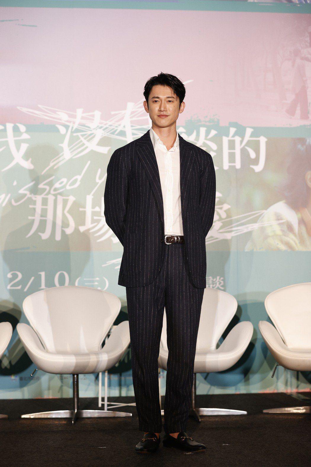 吳慷仁最近宣傳新片「我沒有談的那場戀愛」。記者鄭超文/攝影