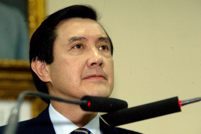 國民黨主席馬英九以和緩但堅定的語氣,宣示參選2008總統的意志不會因特別費案被起訴而動搖。圖/聯合報系資料照片