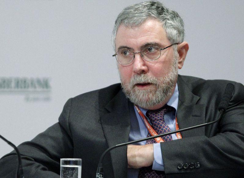 2008年诺贝尔经济学奖得主克鲁曼。路透(photo:UDN)