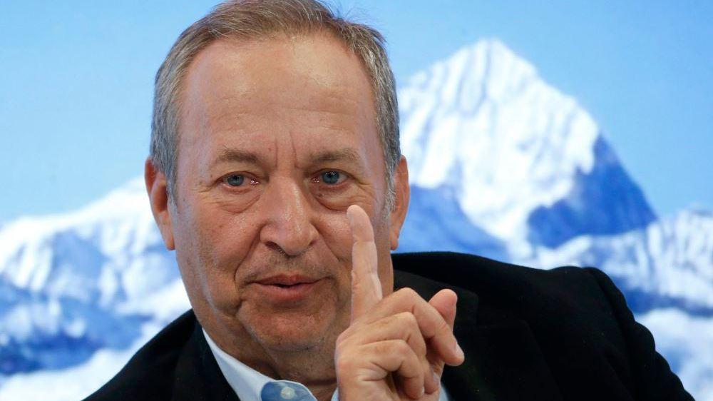 桑默斯(見圖)與克魯曼為了拜登政府的1.9兆美元紓困計畫,於線上大論戰。路透