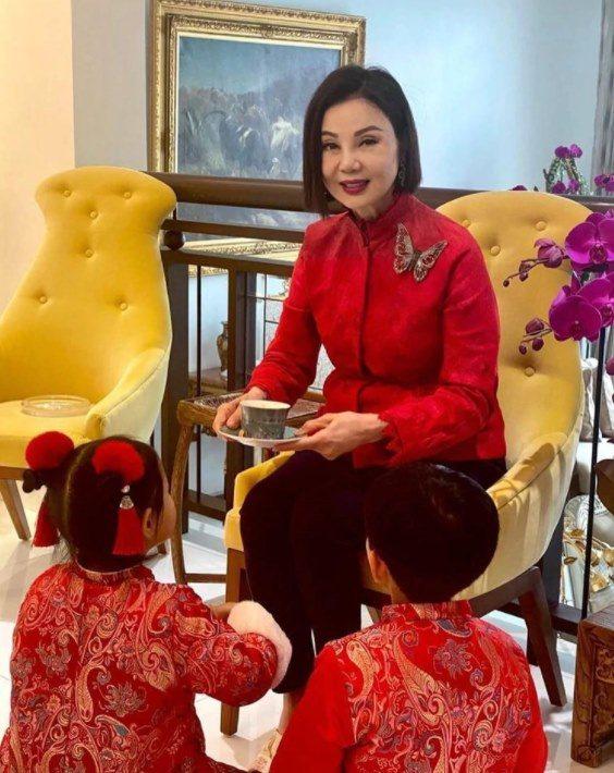 謝玲玲去年罹患新冠肺炎。圖/摘自微博