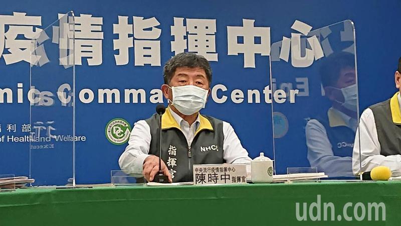 指揮中心指揮官陳時中今下午在臨時記者會中公布,今台灣再次守住「加零」,大年初四我新冠疫情無增病例,是繼去年10月25、26、27日連三天無新個案,睽違109天再次三零。記者陳婕翎/攝影