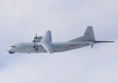 中共解放軍一架運8反潛機(如圖、同型機)今(15)日進入我西南防空識別區。圖/國防部