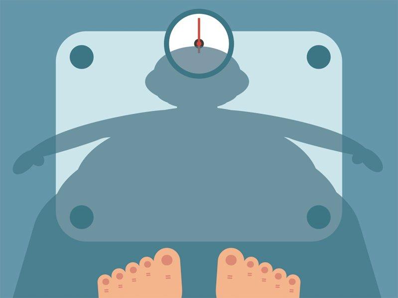 減重成功,首要量體重。 圖/123RF