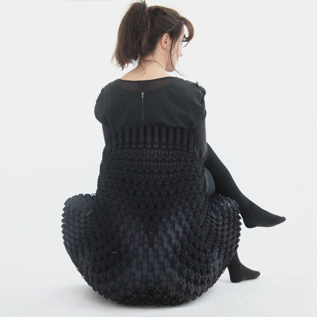 Joris Laarman設計的漸變椅。圖/Joris Laarman