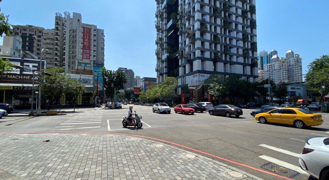 台中大墩、公益商圈街景。(圖/台灣房屋提供)