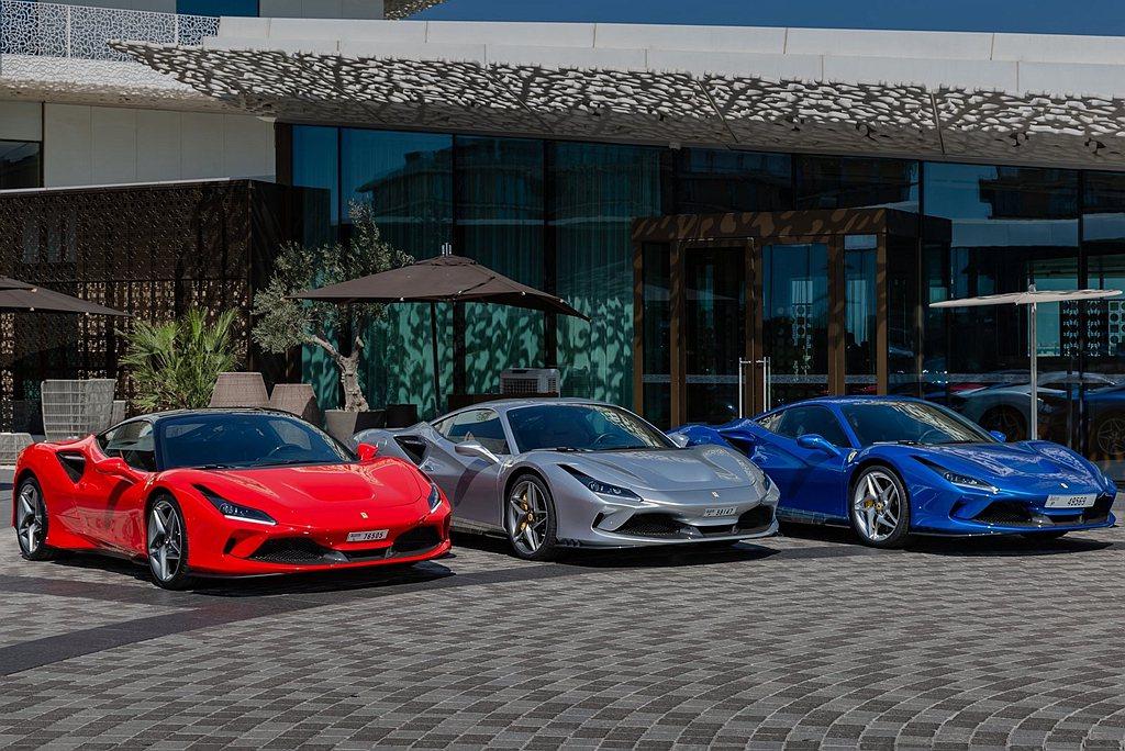 2020年Ferrari年度銷售大幅縮水,甚至減少到1萬輛規模以下。 圖/Fer...