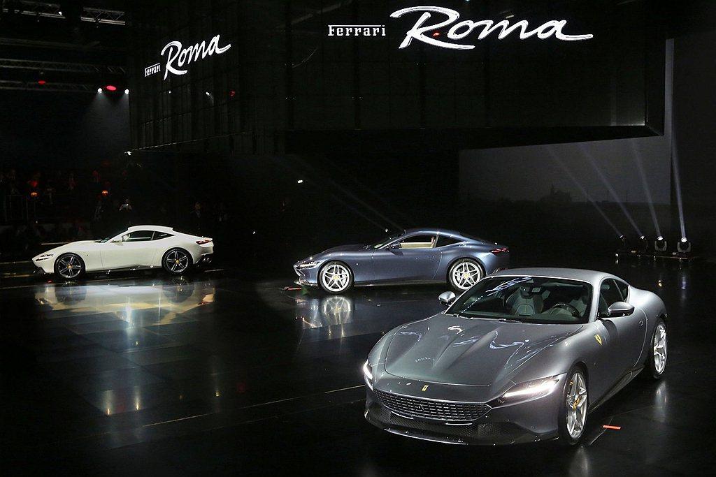 Ferrari SF90 Stradale以及Roma都已經在去年第四季開始陸續...
