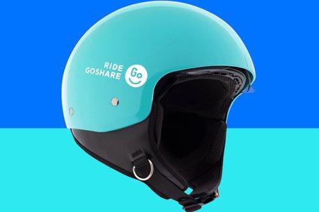 共享機車首見!GoShare提供「內藏式擋風鏡」安全帽,提升騎乘安全