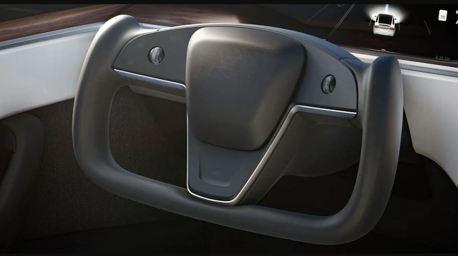 Tesla全新U型方向盤 通過英國法規認證!