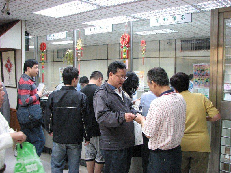 台灣郵政發行最後一套中華郵政郵票。圖/聯合報系資料照