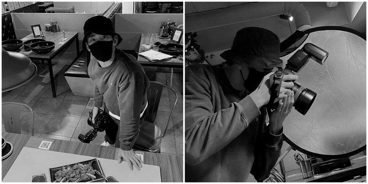 亞洲男神金秀賢在個人官方instagram帳號中,手持單眼相機化身斜槓攝影師、專...