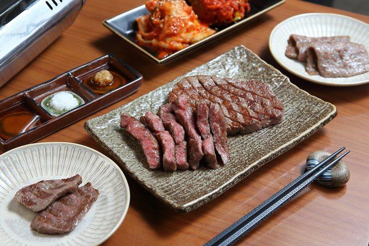 俺達の肉屋提供有多樣化的日式燒肉料理。記者陳睿中/攝影