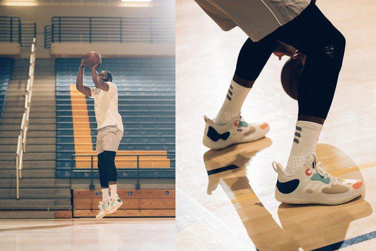 NBA球星James Harden親自詮釋adidas第五代簽名Harden V...