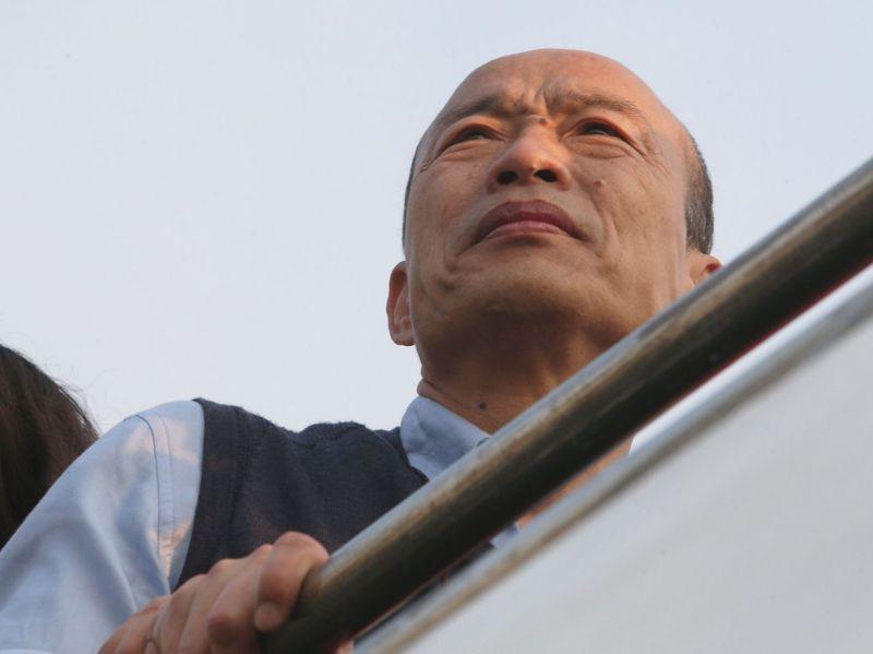 高雄市前市長韓國瑜的下一步備受關注。圖/聯合報系資料照片