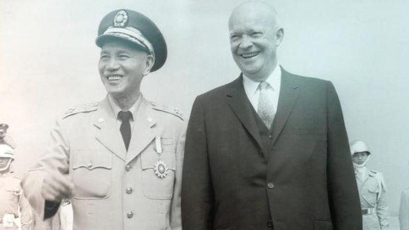 艾森豪威爾擔任美國總統後,在1954年12月與台灣簽署了《中美共同防禦條約》承諾保衛台澎金馬。圖/聯合報系資料照片