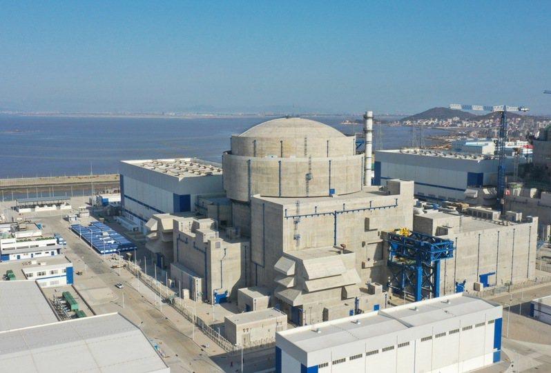 「華龍一號」全球首堆福清核電5號機組,成功投入商業運行,圖為「華龍一號」福建福清核電5號機組。圖/本報四川德陽傳真