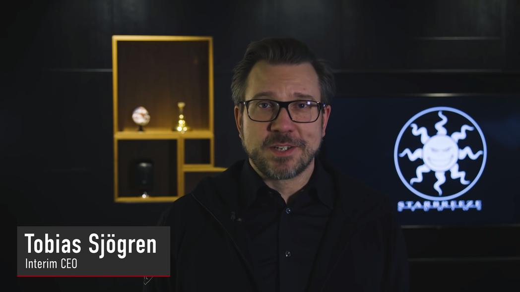 Starbreeze 代理執行長 Tobias Sjögren