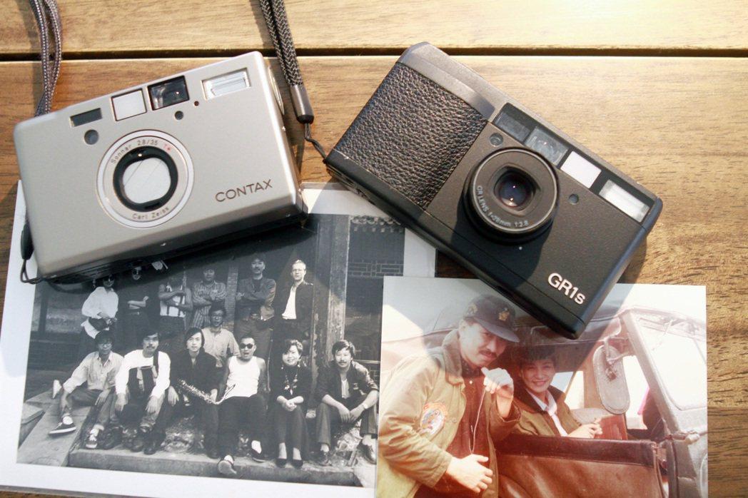 倪重華年輕時就開始拍照,不少好友都笑稱:「要什麼資料照,找倪桑就對了。」。圖/聯...