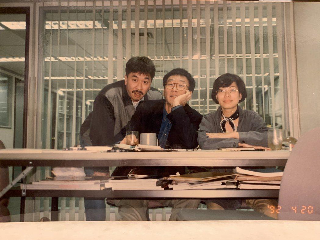 倪重華(左)創立真言社,為台灣樂壇開展出新的搖滾面向。照片提供/倪重華