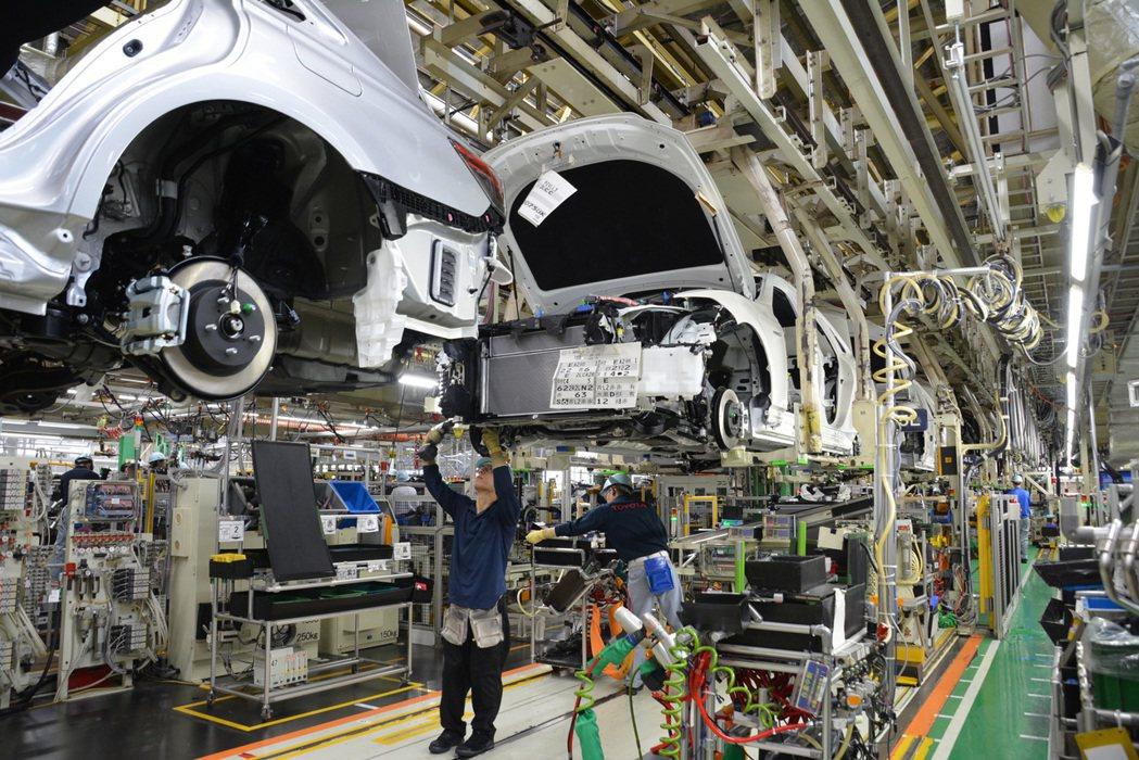 豐田汽車19日宣布,受上周末地震影響,有八座工廠下周需再停工一至兩天。 摘自To...