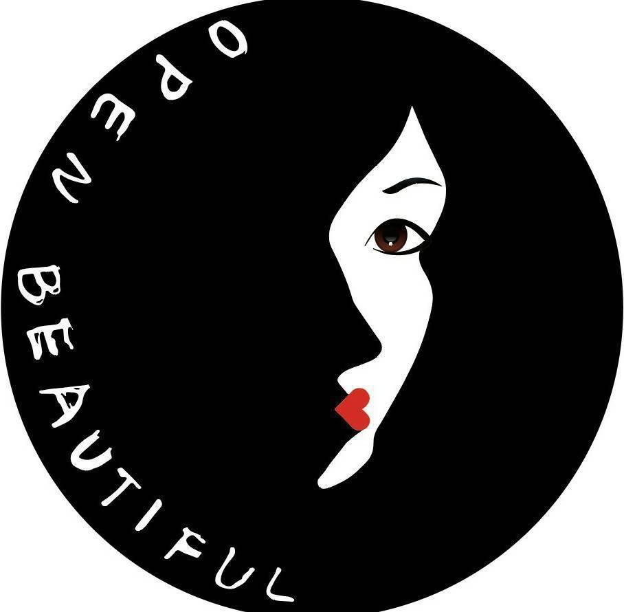 Open Beautiful精心設計典雅性感的LOGO,不只代表美業品牌符號,更...