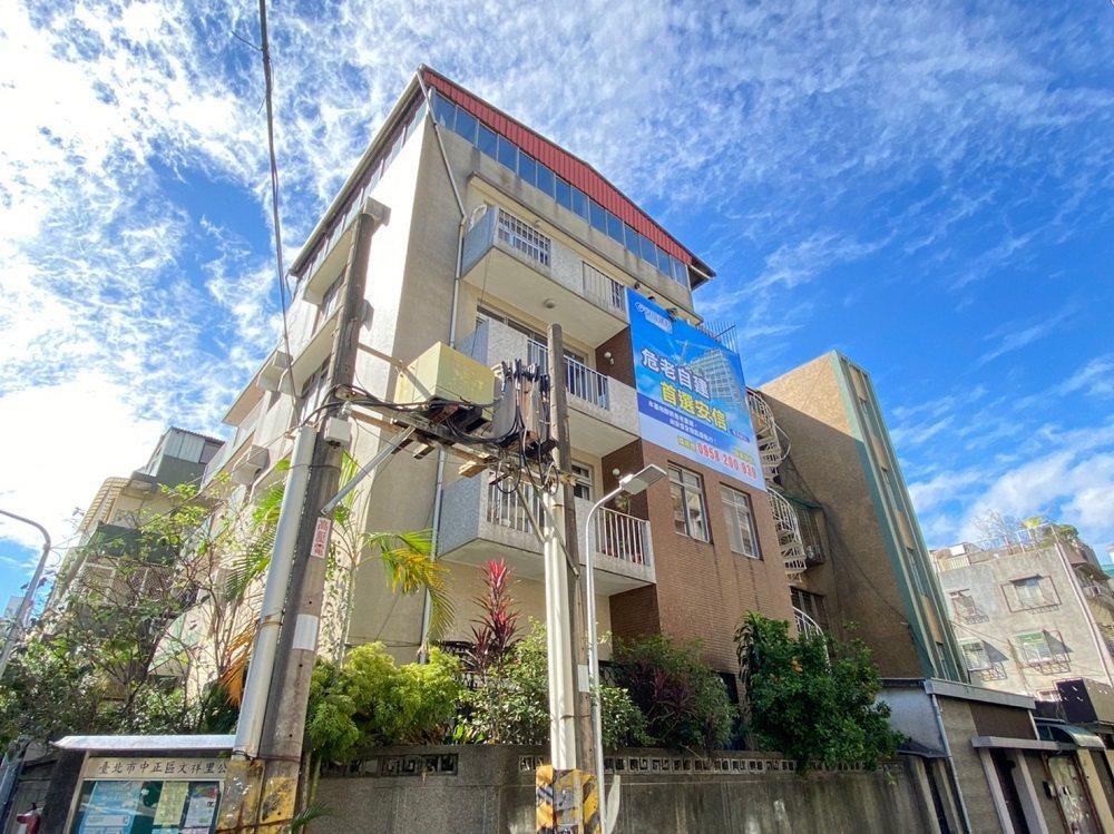 位於台北市中正區信義路二段的48年透天老宅,為安信『全案管理』承作危老自建之典型...