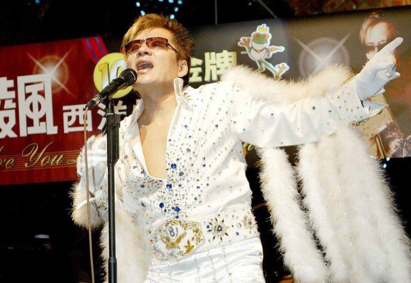 高凌風出席「十大金牌」西洋情歌記者會。圖/聯合報系資料照片