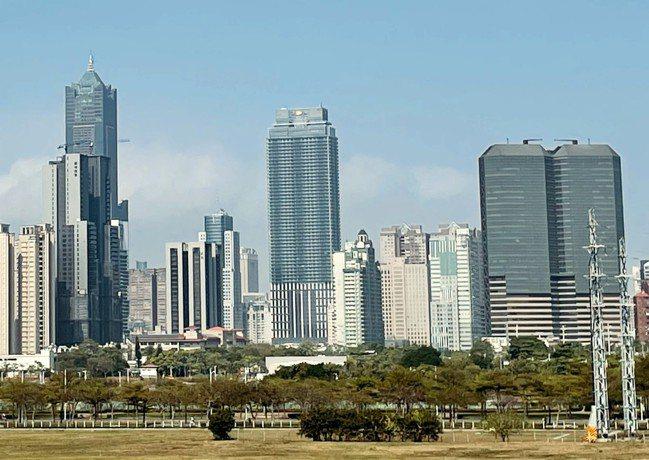 高雄摩天大樓越蓋越多。圖/台灣房屋