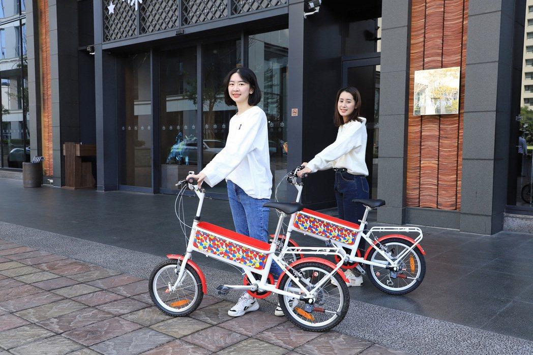 台南晶英酒店推住房送單車專案。業者提供