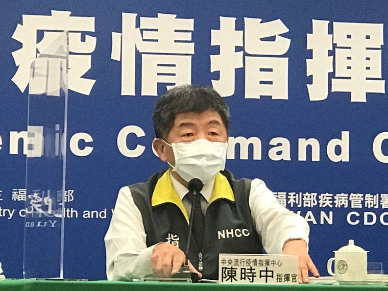 陳時中表示,春節這段期間大家口罩有戴好,不管是新冠肺炎、類流感,戴好口罩對身體都...