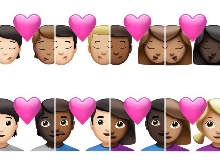 為了更符合性別平權、各種族膚色的使用需求,新版的emoji將可調整膚色,也多出更...
