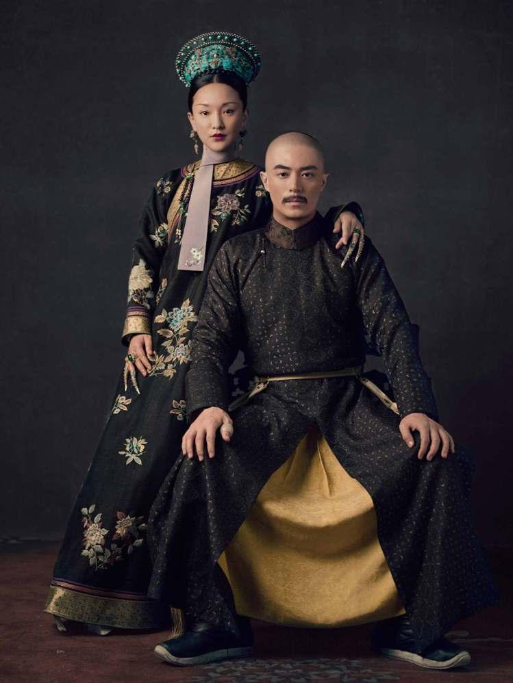 「如懿傳」由周迅(左)、霍建華主演。圖/中天娛樂台提供
