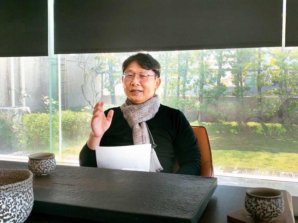 亞昕國際開發董事長姚連地。張瑞文/攝影