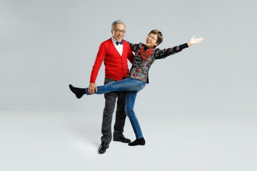 張薇薇與張郎的日常就像跳雙人舞;拌嘴、回嗆是生活的調味料 圖/陳軍杉 攝影