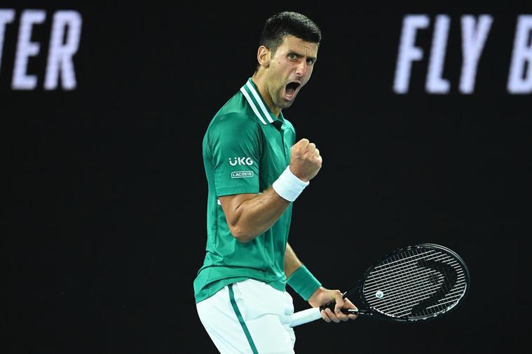 球王約克維奇(Novak Djokovic)。 歐新社