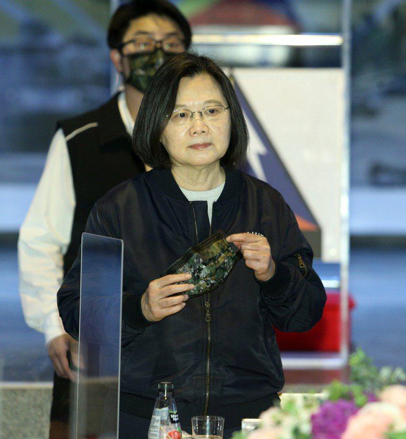 蔡英文總統。記者劉學聖攝影/報系資料照