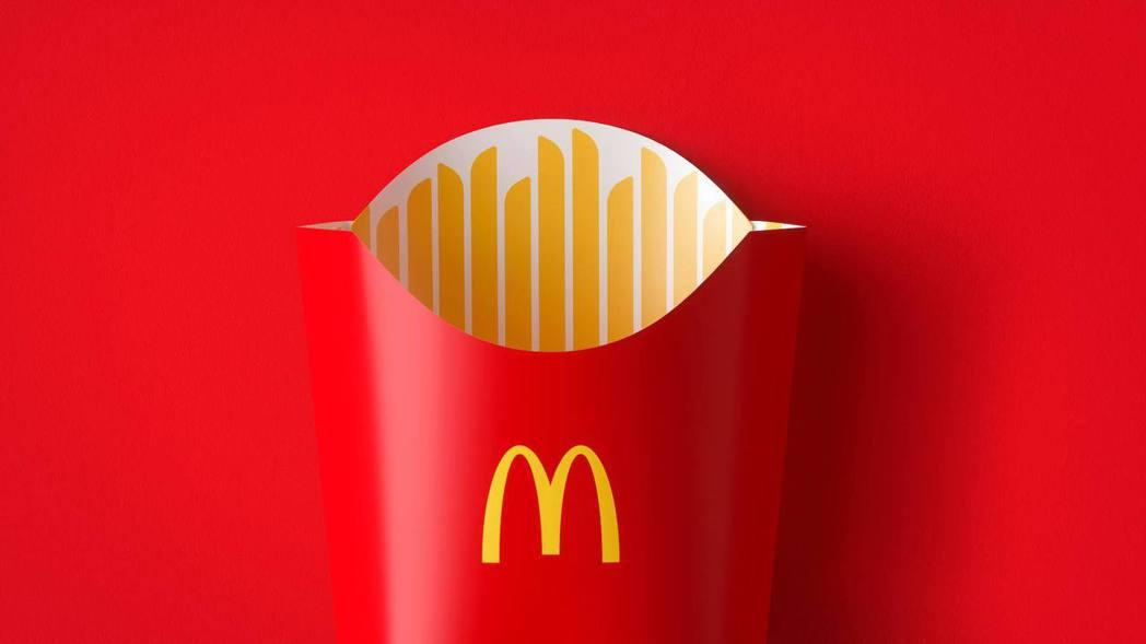 麥當勞新產品包裝,以簡約圖案呈現產品特色。圖/Pearlfisher