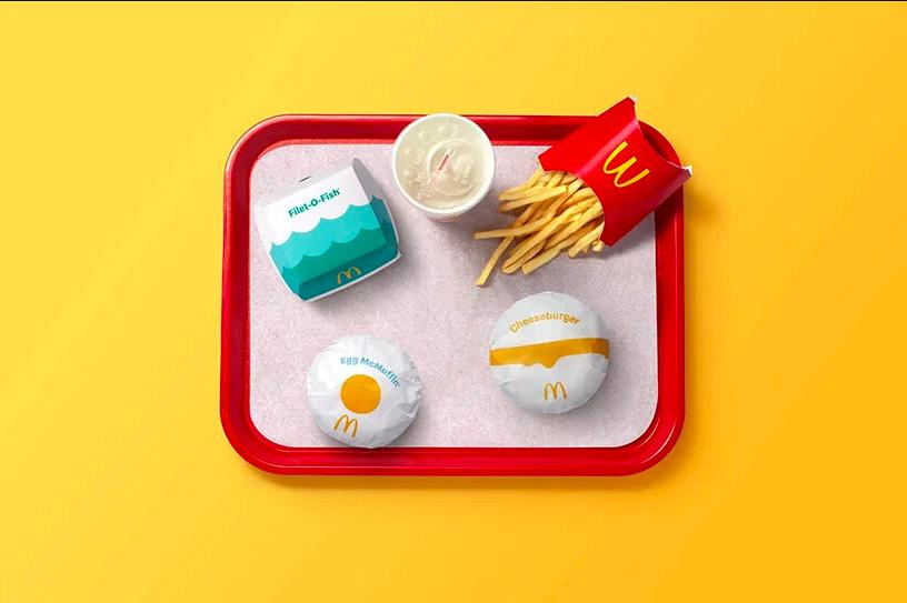 麥當勞新產品包裝,希望以產品包裝,突破語言藩籬。圖/Pearlfisher