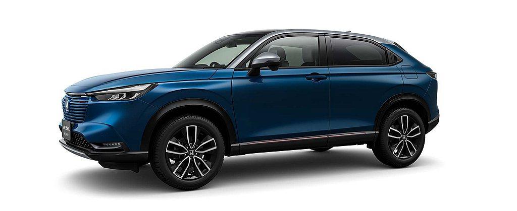 全新世代Honda Vezel(台灣市場稱HR-V)預計今年4月進行全球首發。 ...