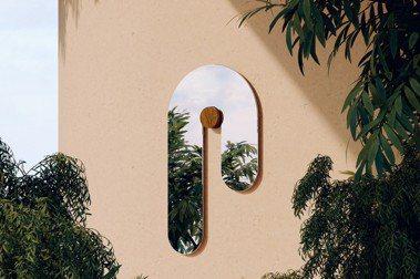 顛覆對鏡子造型的印象!紐約Bower Studios讓鏡子「融化了」