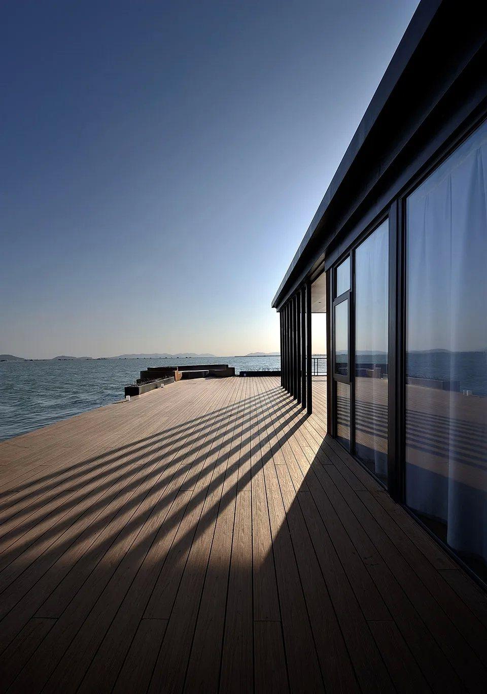 Hi Sea四面環海,可隨時欣賞海景。圖/Hi Sea