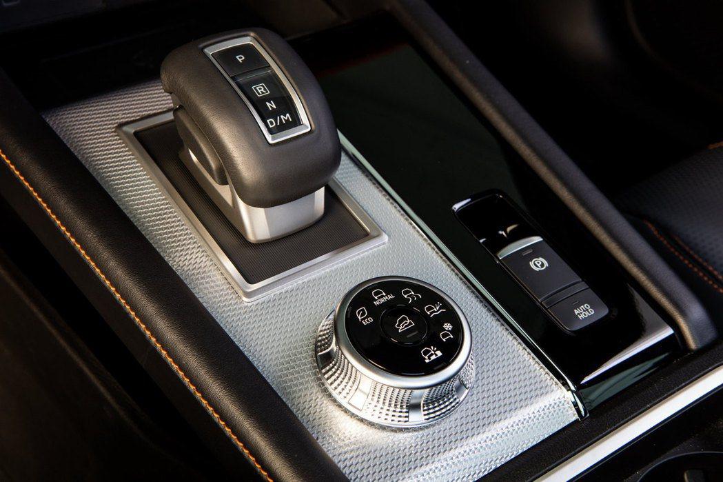模擬八速CVT變速箱,並有駕駛模式可供選擇。 圖/Mitsubishi提供