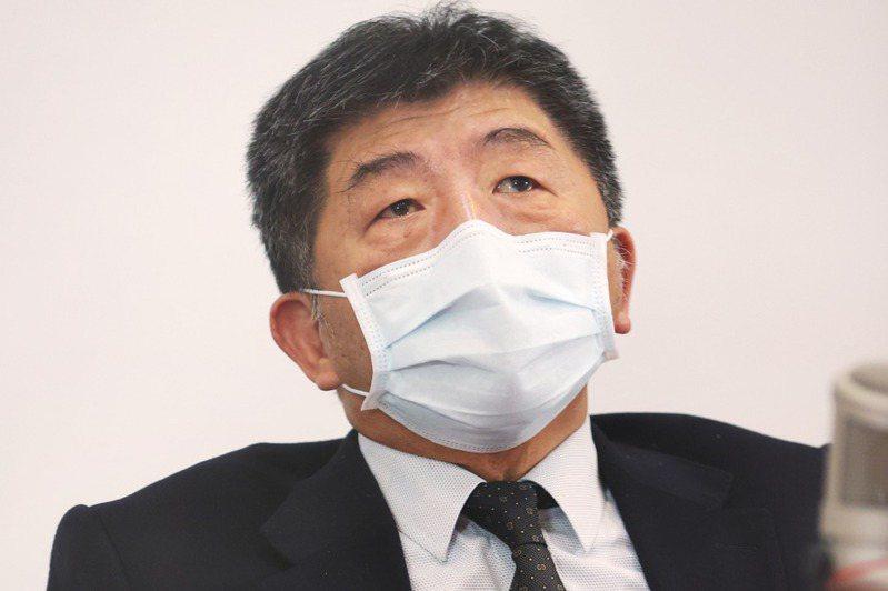 衛福部長陳時中。記者陳正興/攝影