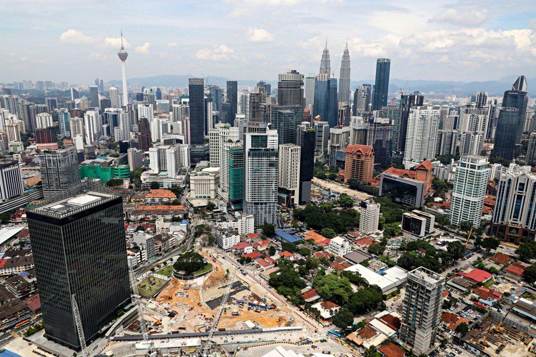 納吉於2009年出任首相以來,積極發展吉隆坡,批准多項大型工程。 圖/路透社...