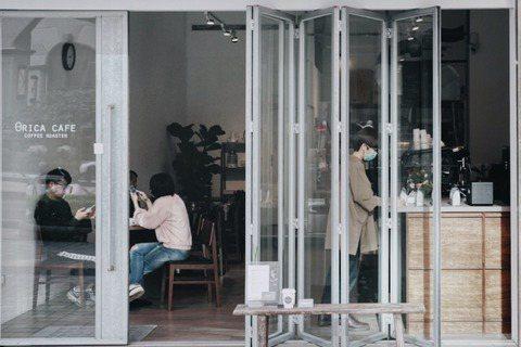 桃園內壢咖啡館「弎咖 θRICA CAFE」。 圖/沈佩臻攝影