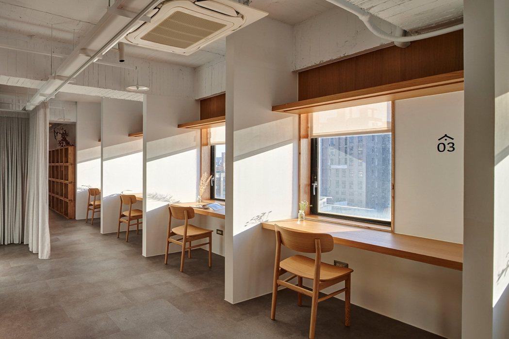 森Space與無印良品合作,將生活感帶入,暖化獨來獨往的辦公室氛圍。 圖/森Sp...